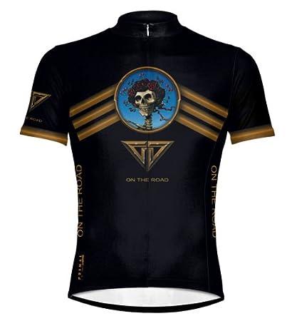 7d82dc5b889e0 Primal Wear Grateful Dead On The Road Cycling Jersey Men's Short Sleeve