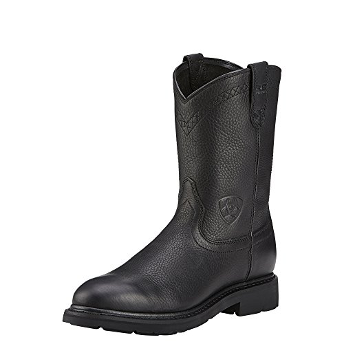 Ariat Men's Sierra Work Boot, Black, 9.5 EE US