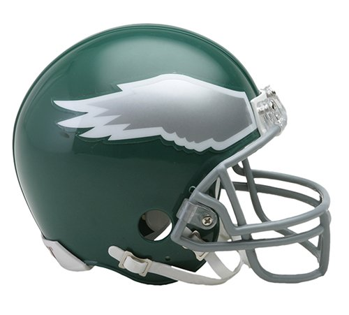 (Philadelphia Eagles 1974-95 Throwback NFL Riddell Replica Mini Helmet)