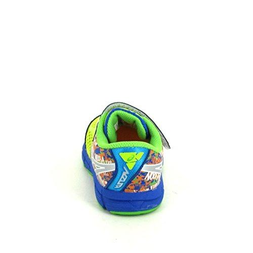 Asics - Zapatillas de Material Sintético para niño Multicolor multicolor Multicolor - amarillo/azul