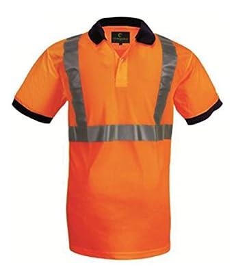 Euro Protection - Polo Alta Visibilidad De Camiseta De Poliéster ...