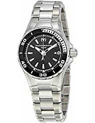 Technomarine Womens Sea Manta Quartz Stainless Steel Casual Watch, Color:Silver-Toned (Model: TM-215005)