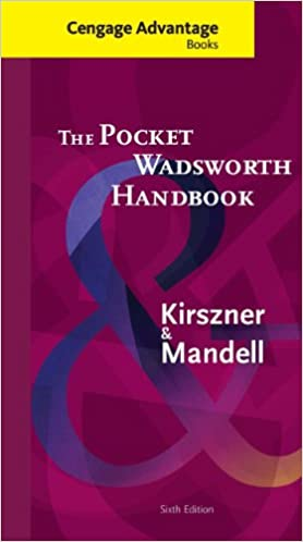 Cengage advantage books: the pocket wadsworth handbook (with 2016.