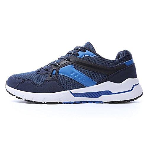 shoes Scarpe traspirante scuro sportive uomo Color EU 40 per donna ginnastica alto tacco Autunno Estate Blu donna Jiuyue da e Dimensione 2018 con da pnqFFwd