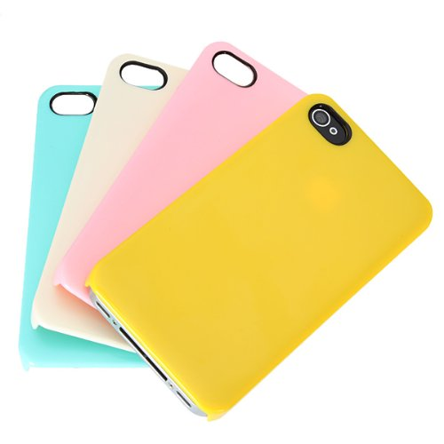 Case Colorful Ice Cream Ultra Thin lisse Snap-on pour l'iPhone 4 4S