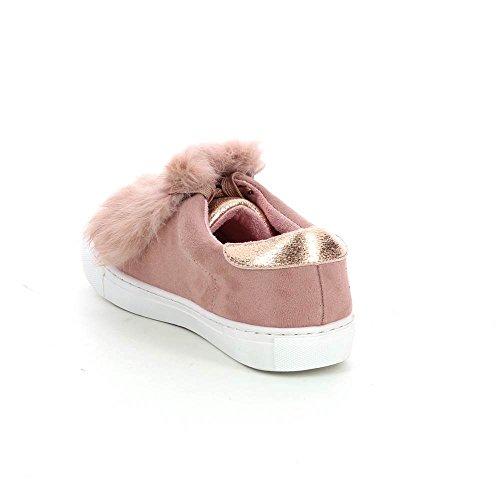 Go Tendance - Zapatillas de Deporte de Material Sintético Mujer Rose