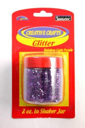 Glitter Shaker- Light Purple 48 pcs sku# 1794962MA by DDI