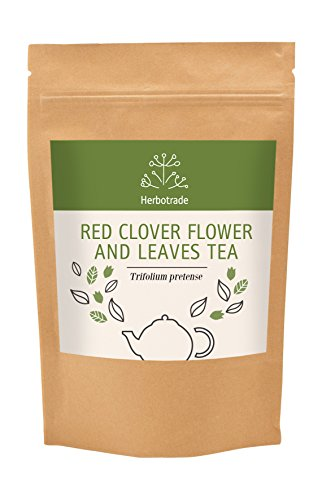 Red clover (Trifolium pratense) dried leaves and flowers tea (loose) 3 oz / (Red Clover Honey)