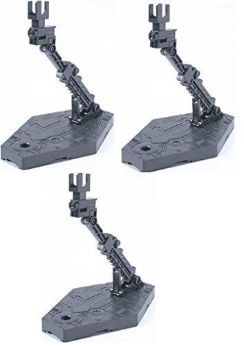 Bandai Hobby Action Base 2 Display Stand , Gray - Value Set