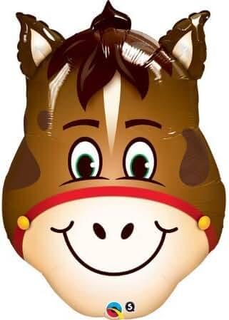 HORSE Farm Barn Barnyard Head Shape 32