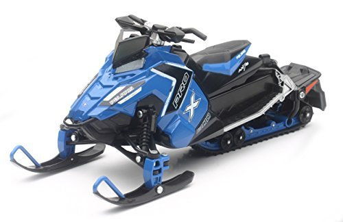 Buy cheap polaris 800 switchback pro snowmobile blue scale model newray