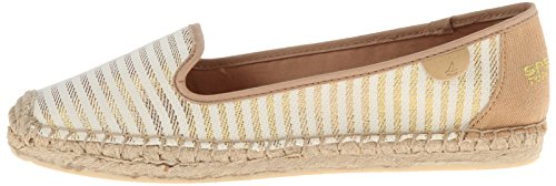 Women's amp; Slip Sperry Loafers gold sider Coco ons Top Sand Shoe xEYwqYX
