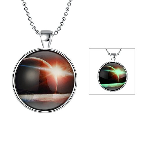 Book Character Costume Ideas For Boys - Gnzoe Women Pendant Necklace Chain for Holloween Party StarsMeteorite