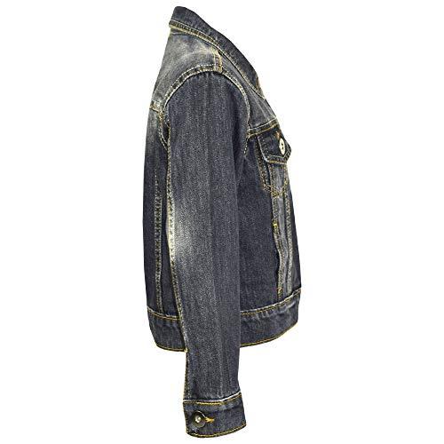 6b1bb9f5bca0 A2Z 4 Kids Kids Girls Jacket Denim Style Stylish Fashion Trendy ...