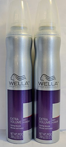 Wella Extra Volume Styling Mousse 10.1oz (2 Pack)