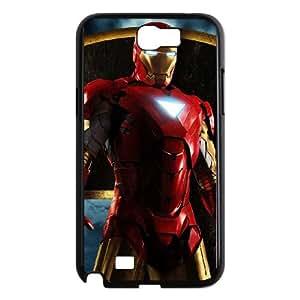 Iron Man Samsung Galaxy N2 7100 Cell Phone Case Black Phone cover W9303992