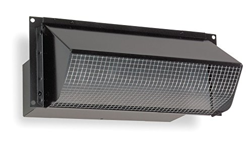 "Price comparison product image Broan 639 Wall Cap for 3-1/4"" x 10"" Duct for Range Hoods and Bath Ventilation Fans"