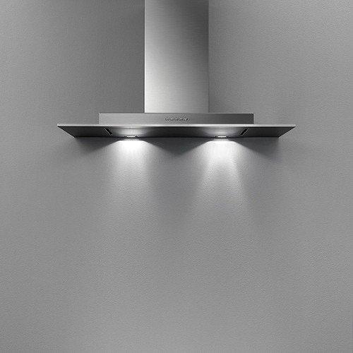 Falmec-Campana de pared Exploit Top 90 cm de acero ...