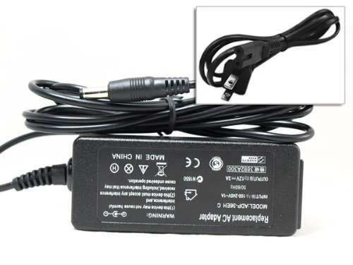 (Hootoo Laptop Battery Charger+Power Cord ADP-36EH For Asus Eee PC 900 1000 R2 12V 3A 36W EXA0801XA )