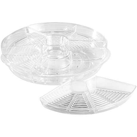Prodyne AB 5 Appetizers On Ice Revolving Tray