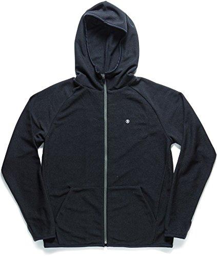 Roark Syndicate Fleece Zip Up Black Mens M by Roark