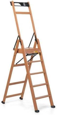 Foppapedretti 9900370006 Escalera de cinco peldaños, Nogal