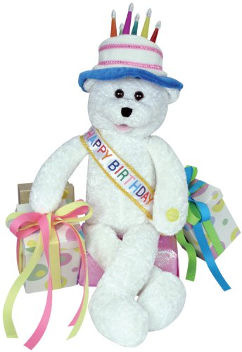 "Pbc International Chantilly Lane 19"" Birthday Bear Sings ..."