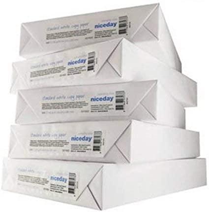 Niceday – oficina valor copiadora papel multifuncional (80 G/m², A4 blanco – 1 caja con 5 resmas de 500 hojas: Amazon.es: Oficina y papelería