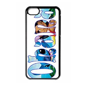 James-Bagg Phone case Lilo And Stitch - Ohana Means Family For iphone 5c iphone 5c Style-14