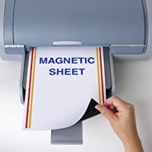 """StoreSMART - Printable Magnetic-Backed Sheets - 8.5"""" x 11"""" - 25-Pack - MA811-25"""