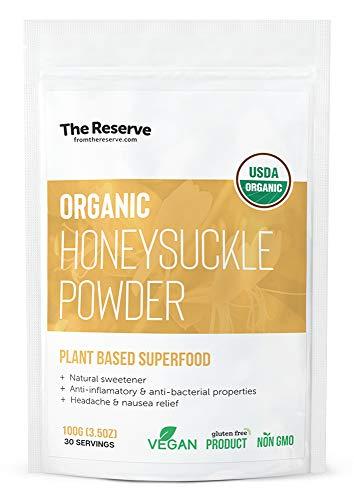 (Organic Honeysuckle Powder, Superfood Powder, THE)