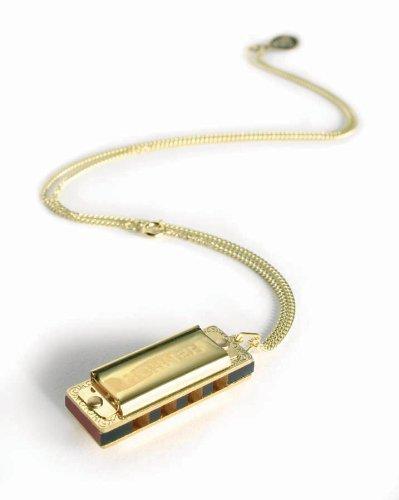 HOHNER ホーナー ミニチュアハーモニカ Little Lady-Gold 110/8 B002KPHYCA