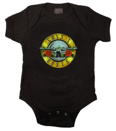 Infant: Guns N Roses - Bullet Logo Bodysuit Infant Onesie Size 0-6 ()