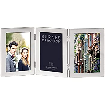 Amazon.com - Burnes of Boston C53346 Triple Hnged Picture Frame, 4 ...