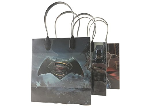 Batman Vs Superman 12 Pcs Goodie Bags Party Favor Gift Birthday