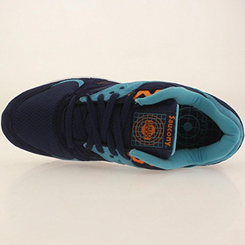 Saucony - Zapatillas de tela para hombre azul azul Azul