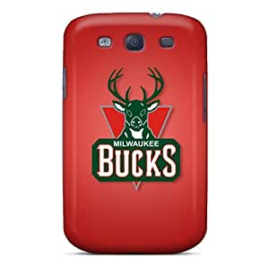 OuO4604khFk Milwaukee Bucks Fashion Tpu S3 Case Cover For Galaxy