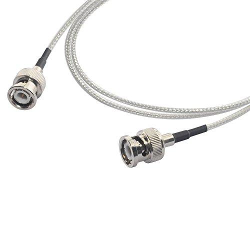 MOKOSE 9.8Ft(3M) 3G HD-SDI Cables 75 Ohm SDI BNC Male Silver-plated Coax Cable, BNC to BNC For MOKOSE USH3001 by MOKOSE (Image #1)