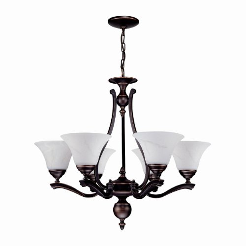 Devonshire 6 Light (DVI DVP7426AB 6 Light Devonshire Chandelier)