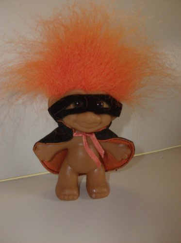 Troll Doll Halloween Cape and Mask 3
