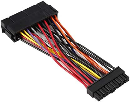 Cable Length: Other Cables /& Connectors 1pc ATX Power Supply 24 Pin to 24 Pin Power Supply Adapter Cable for Laptop for DELL 780 980 760 960