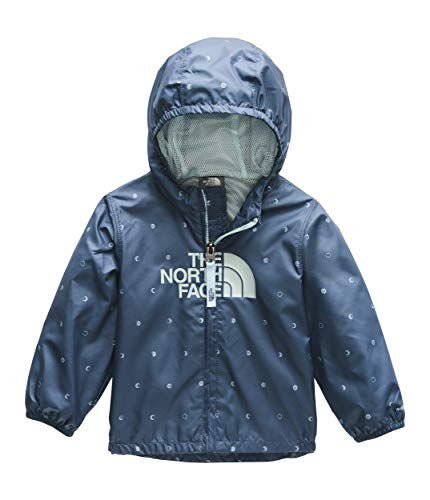(The North Face Infant Novelty Flurry Wind Jacket, Shady Blue Moon Phases Print, 3M)