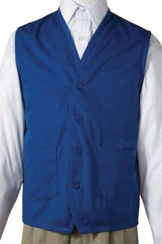 Edwards Apron Vest With Waist Pockets, ROYAL, 2XLarge