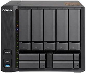 QNAP TS-963X Ethernet Torre Negro NAS - Unidad Raid (Unidad de Disco Duro, SSD, Serial ATA III, 2.5/3.5