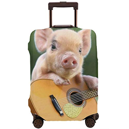 Travel Luggage Protective Covers Pig Elastic Zipper Thickened Resistant Scratch Dust Proof Washable Suitcase Cover -