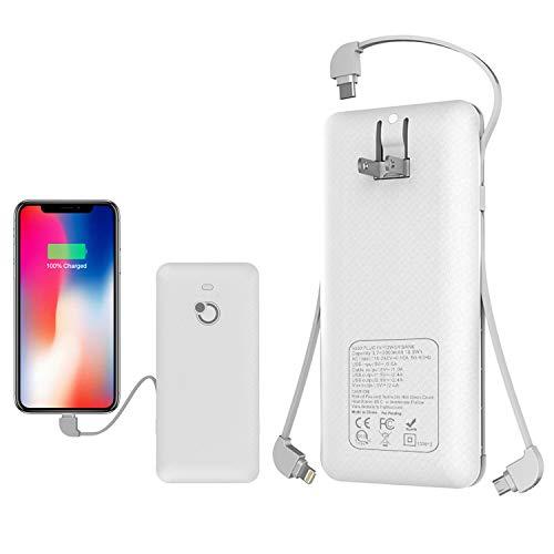 10000mAh Q Slim Power Bank Portable Charger External Battery
