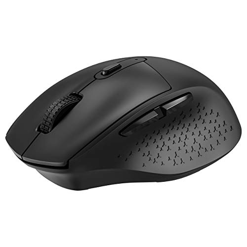 Wireless Mouse [Comfortable & Convenient] VicTsing 2.4G Computer Mouse with Noiseless Buttons, Adjustable DPI, Plug & Play to PC, Computer, Laptop, Mac, etc. - Ideal Work Partner