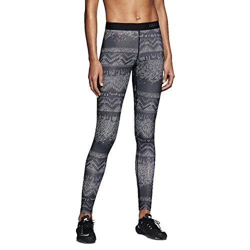 Nike Womens Pro Hyperwarm Printed Tights Large