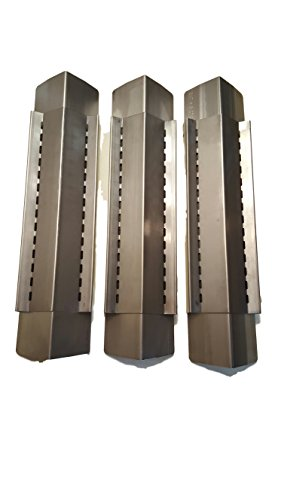 Set of 3 Stainless Steel Heat Plate for for Fiesta and Kenmore Grills
