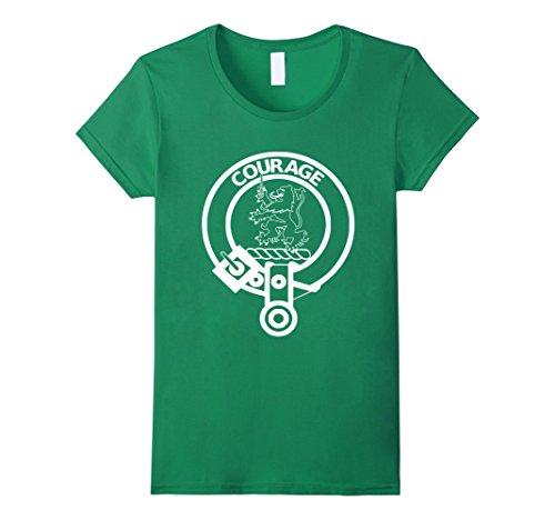 Shop Clan Cumming (Womens Clan Cumming T-Shirt Scotland Scottish Surname Graphic Tee Large Kelly Green)